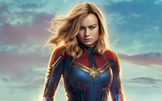Brie Larson Captain Marvel アベンジャーズ史上最強のヒロイン「キャプテン・マーベル」