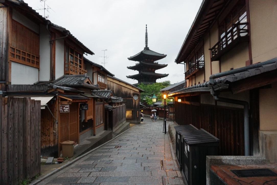 八坂の塔 「千年の都」京都への旅(後編)
