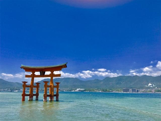 広島の世界遺産「厳島神社」
