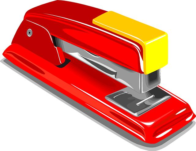 stapler ホッチキス 和製英語