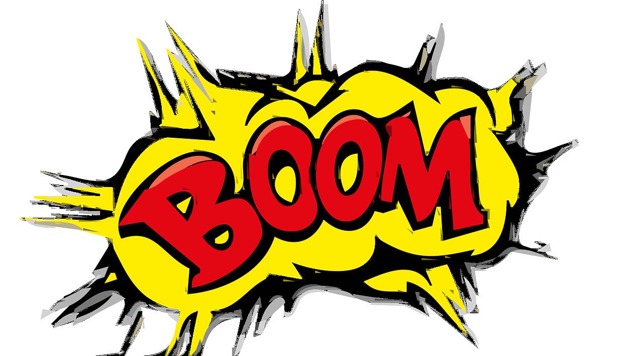 boom オノマトペ