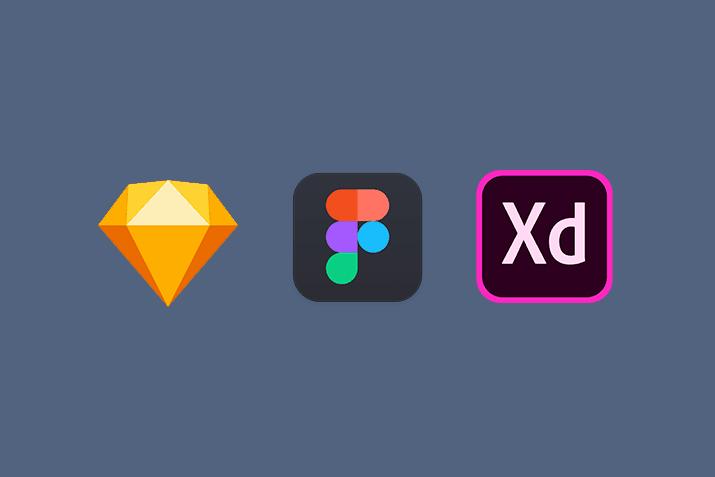 AdobeXD,Sketch,Figmaを徹底比較。それぞれのメリットデメリット